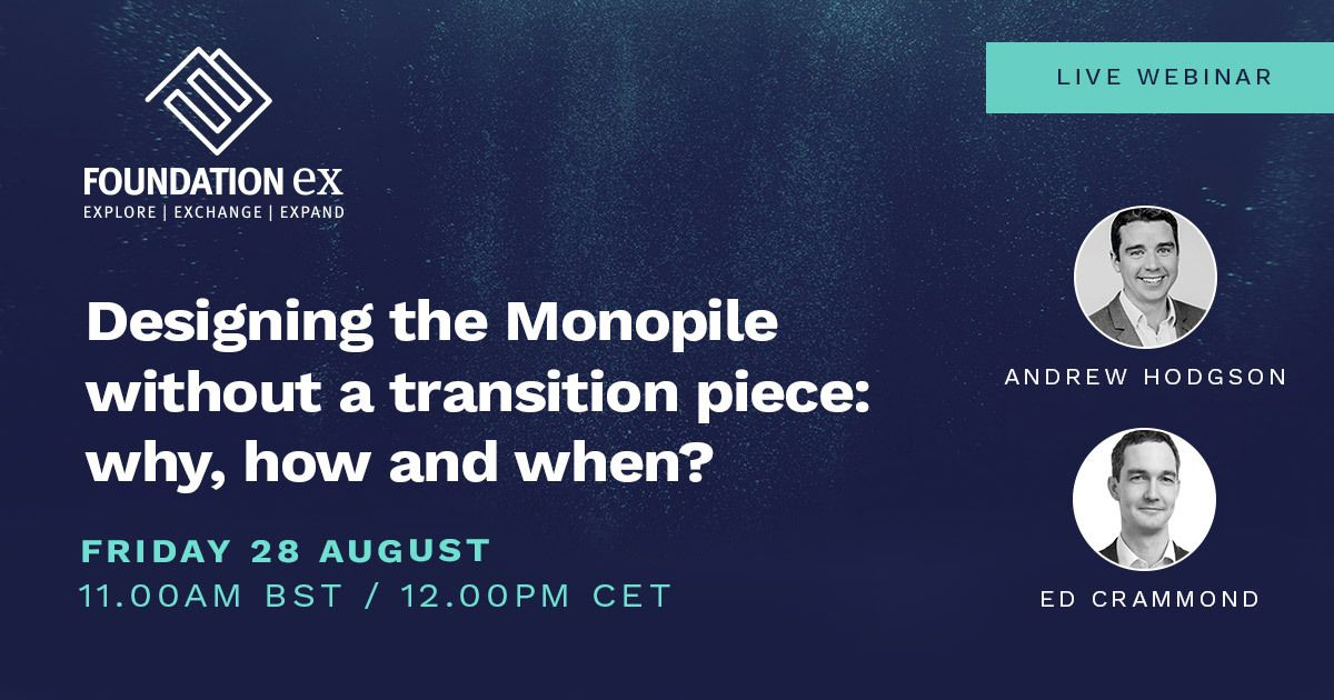 Webinar on demand: Designing the Monopile without a transition piece: why, how and when?
