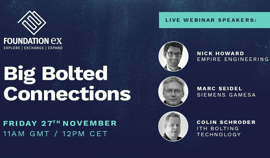 Webinar on demand: Big Bolted Connections
