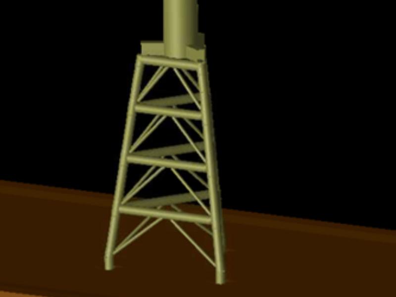 leg concept design used for cost estimates