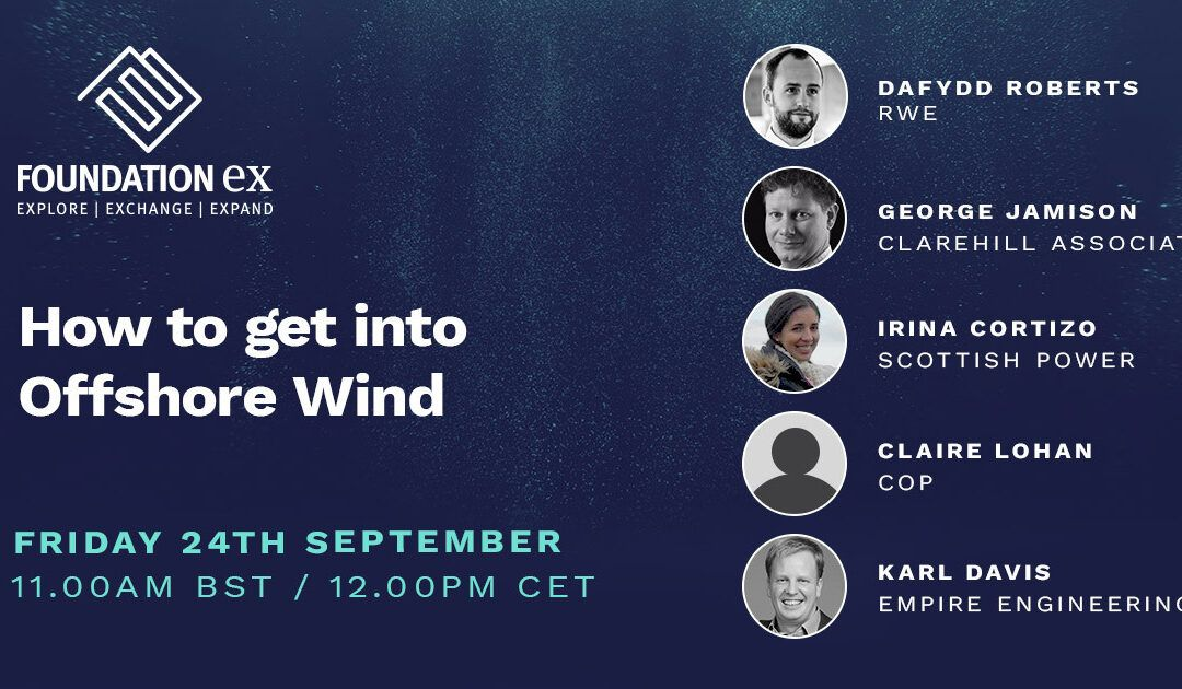 Webinar on demand: How to get into Offshore Wind?